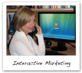 Interactive marketing web services